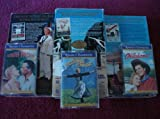 6 Pack GOLDEN ANIVERSARY 3 VHS With Original Soundtrack Recordings (Cassettes) Oklahoma, South Pacific, The Sound Of Music
