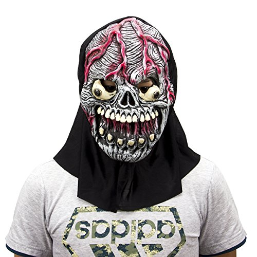 ANPHSIN Scary Latex Halloween Mask for Party Decoration Cosplay (Very Scary Costumes)
