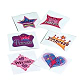 DollarItemDirect Princess Temporary Tattoos , Sold by 15 GROSSES