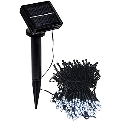 GreenLighting 80' Solar Powered Holiday String Lights w/ 250 LED's