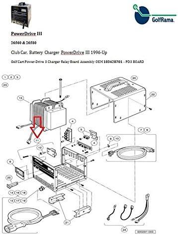 club car charger wiring diagram amazon com club car 48 volt pd3  power drive 3  model chargers club car powerdrive 3 charger wiring diagram club car 48 volt pd3  power drive 3