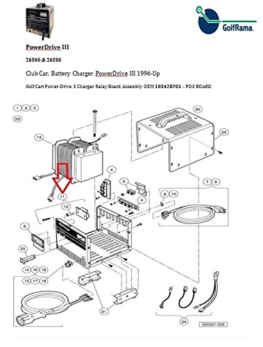 club car 48 volt pd3 (power drive 3) model chargers, 2004 Ezgo Battery Charger Wiring Diagram