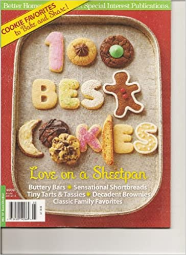 100 Best Cookies (Better Homes and Gardens, 2009): Amazon com: Books