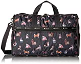 LeSportsac Women's Classic Large Weekender, Take a Bow Wow