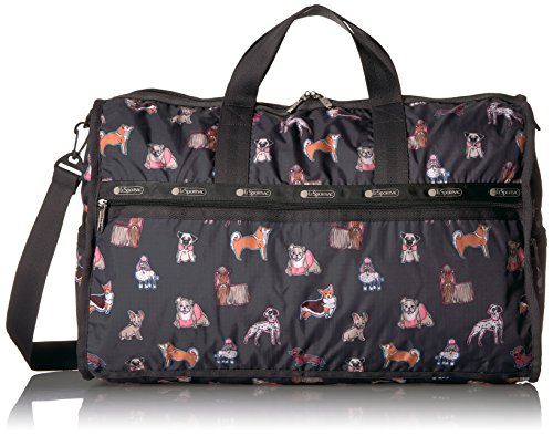 LeSportsac Women's Classic Large Weekender, Take a Bow (Bow Wow Bag)