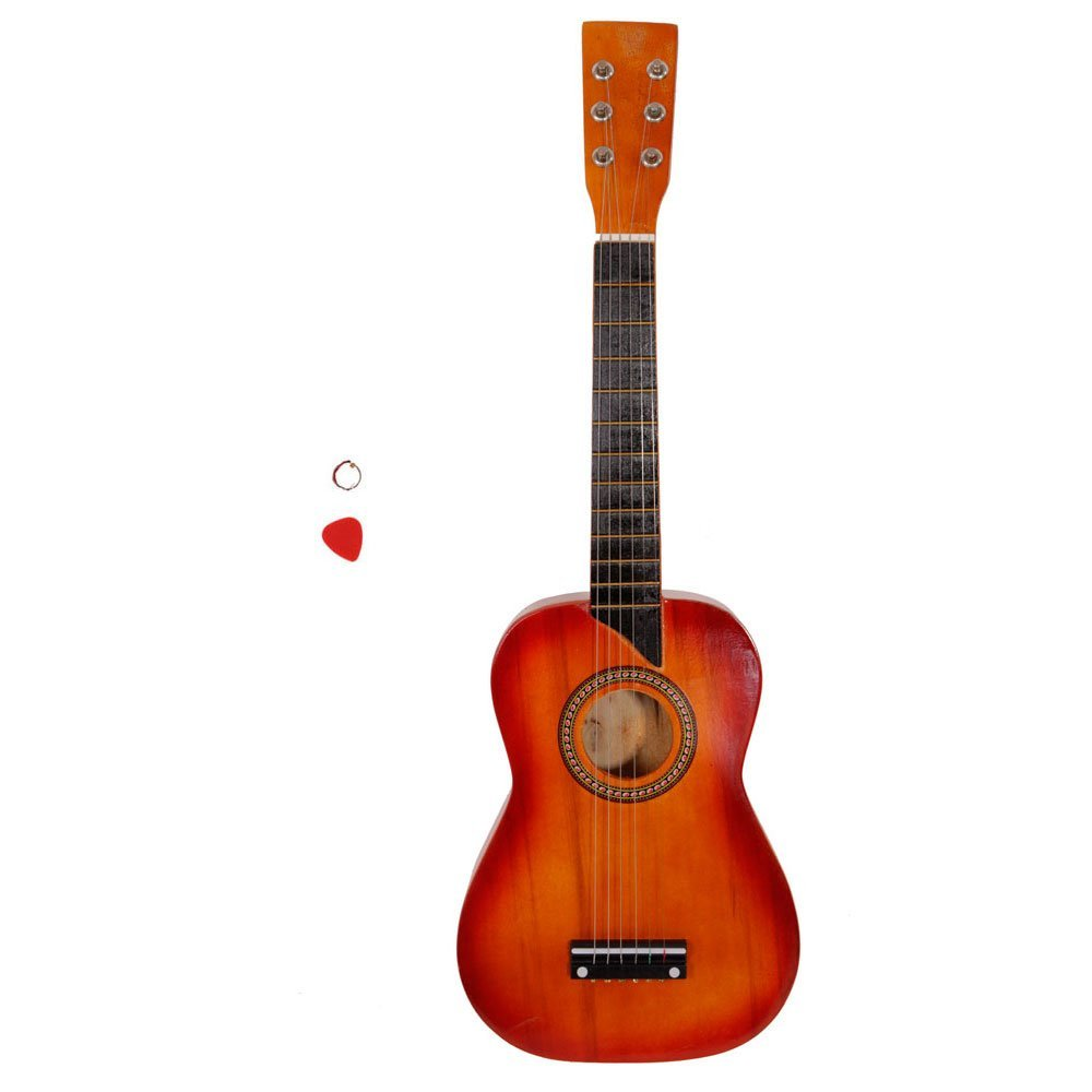 Soogo 25'' Acoustic Guitar + Pick + String for Beginners (mahogany)