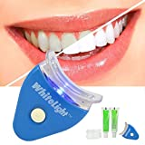 Meflying Non Sensitive Handheld LED Light Teeth Whitening Accelerator with Tray Speed Whitening Gel Kit Teeth Care