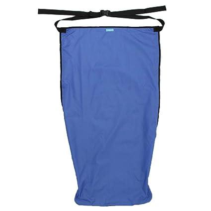 IPOTCH 1 Pieza Manta de Cubierta para Silla de Ruedas Productos de Limpieza Durable - Azul