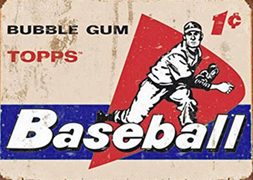 Reproduction of This Old Vintage 1958 Topps Baseball Card Sign Reproduced on 5 X 7 Inch Metal W/free Mounting Magnet Boston Rec ()