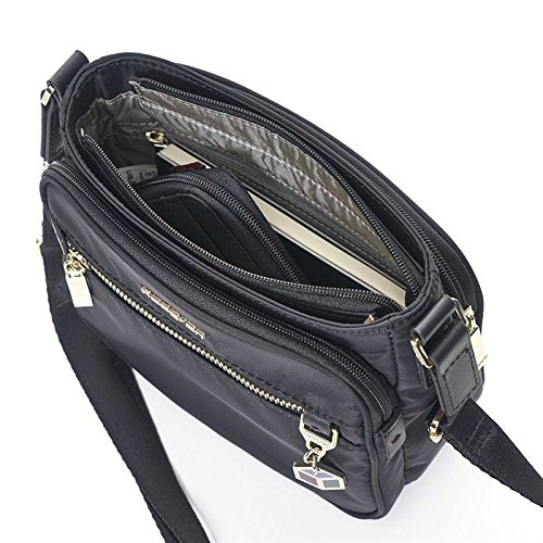 Charm Crossbody Magic Hedgren Black Medium AYv1qqPw