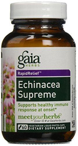 Echinacea Supreme – 60 caps,(Gaia Herbs)