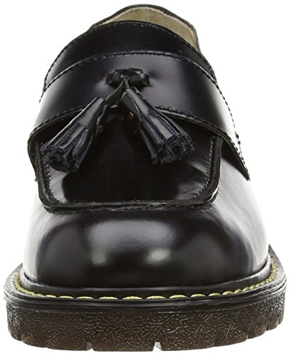 Grinders Negro Cuthbert de Cordones Hombre Negro sin Cuero Zapatos FdFzqnxw0r