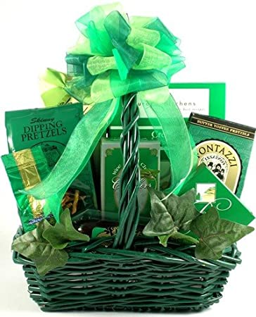 fbc0d063 Image Unavailable. Image not available for. Color: St. Patrick's Day  Gourmet Irish Gift Basket