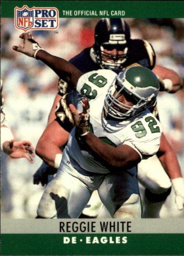 (1990 Pro Set Football Card #252 Reggie White)