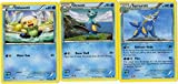Evolution Set - SAMUROTT DEWOTT Oshawott - Steam Siege 32/114 - Rare Card LOT