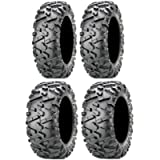 Full set of Maxxis BigHorn 2.0 Radial 27x9-12 and 27x11-12 ATV Tires (4)
