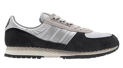 c692d25ee8abd5 adidas Trainers Mens City Marathon Pt - Black Silver - D67350 - UK 11.5