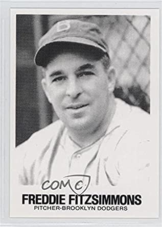 Amazoncom Freddie Fitzsimmons Baseball Card 1977 84 Tcma