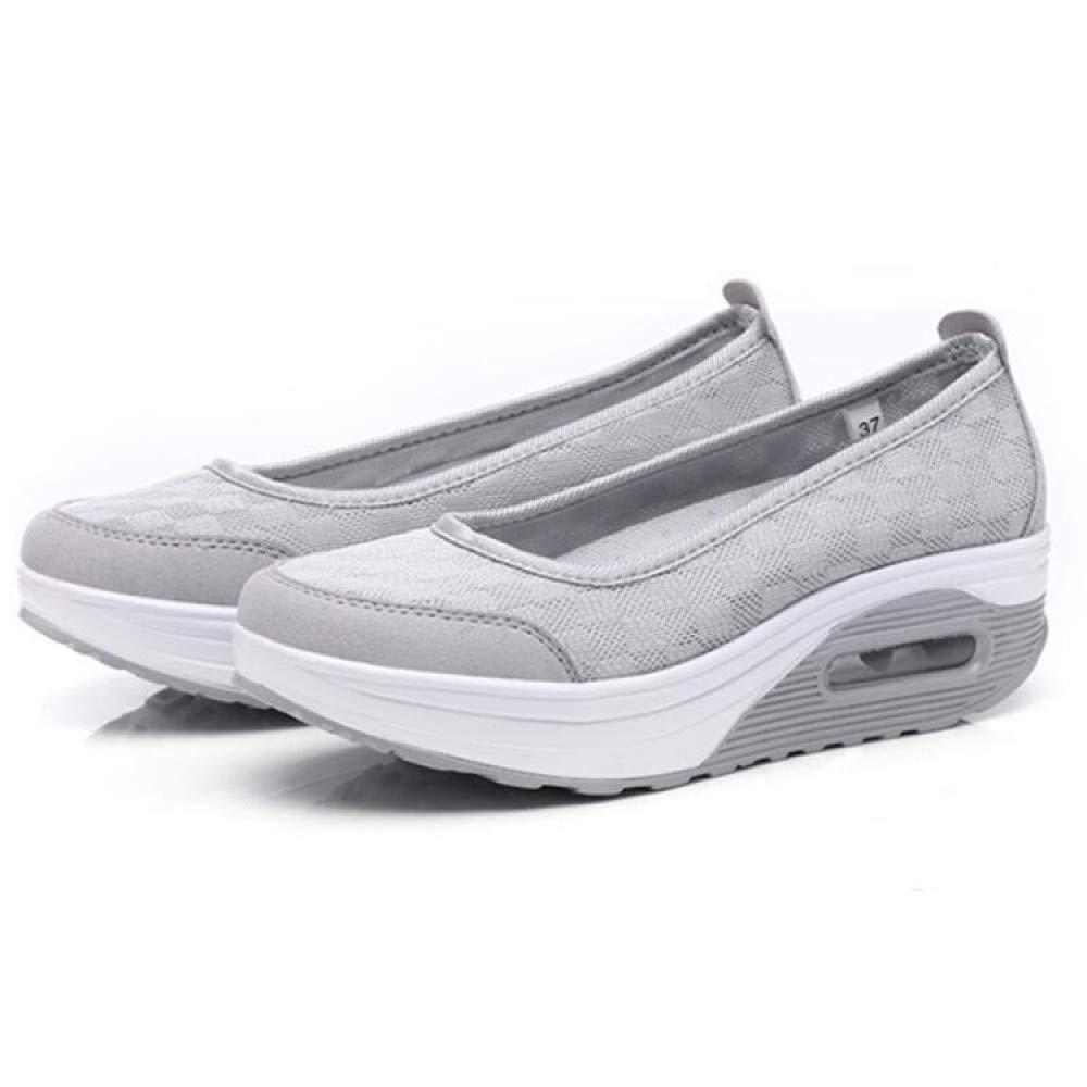 GUNAINDMX Damen Casual Schuhe Frühling Stilvolle Mesh Air Kissen Dämpfung Freizeitschuhe