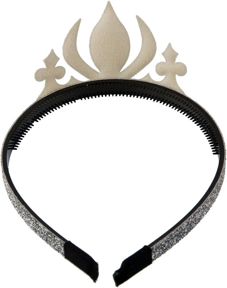 Halloween Costumes GLITTERFIT Girls Snow Queen Crown Headband Princess Headband for Kids