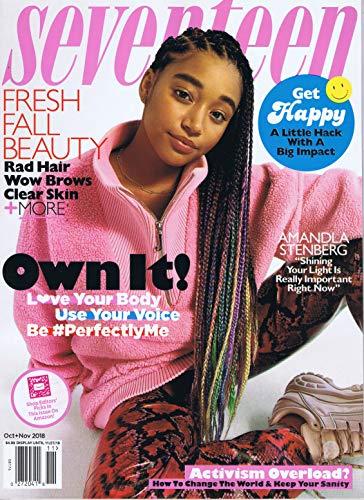 Seventeen Magazine 最新号 表紙画像