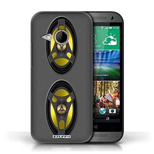 Kobalt® Imprimé Etui / Coque pour HTC One/1 Mini 2 / Autoradio conception / Série Haut-Parleur dessin
