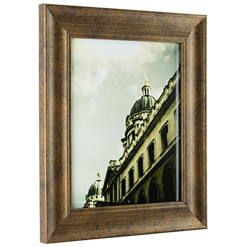 Craig Frames Vintage Revival, Antique Copper and Black Picture Frame, 16 by - Black Frame Vintage