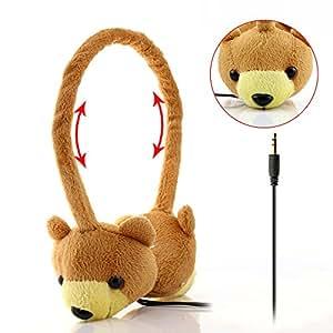 dairle P02Animal Forma earmuf niños auriculares, oídos protección auriculares de diadema para 3+ años de edad, Popular Niños Regalo