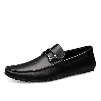 944abad6dee GPF-fei Zapato de Hombre Zapatos de Cuero Mocasines de conducción Zapato de Barco  Zapato