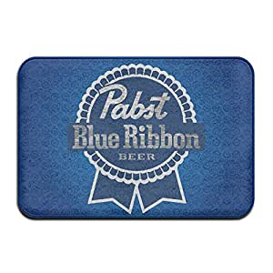 Personalized Indoor Or Outdoor Doormat - Pabst Blue Ribbon Kitchen Doormat Bath Mat, Non-slip And Thin Design, Size 40X60CM