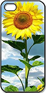 iPhone 5/5s Case Sunflowers Case for Black iPhone 5 iPhone 5s
