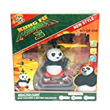 Flying Ball,Children Flying Toys, RC infrared Induction Drone USB Helicopter Ball with Sensor Aircraft, Hello Kitty, Pikachu, Kungfu Panda, Fairy Doll for Teenagers US Seller !! (Kungfu Panda)