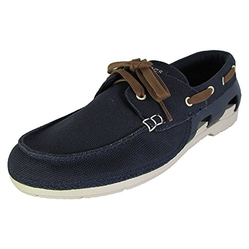 b7ba7a6e60e crocs Men s Beach Line Lace-up Boat Shoe