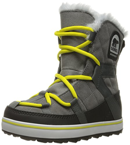 Sorel Glacy Boots Shortie Women's Grey quarry Explorer rnrqCx4w8f