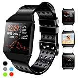 Beaulyn Fitness Tracker Smart Watch with Heart Rate Monitor Call Reminder Activity Trackers Waterproof Step Calorie Counter Pedometer Band for Bluetooth iOS Android Phone Men Women