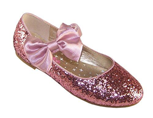 rosa Glitzerballerina Glitzerballerina M盲dchen Schuhe M盲dchen Schuhe besonderen rosa Anlass besonderen M盲dchen rosa Anlass 8ngAqB