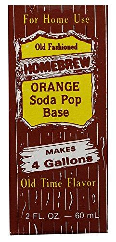 (Homebrew Orange Soda Pop Base)
