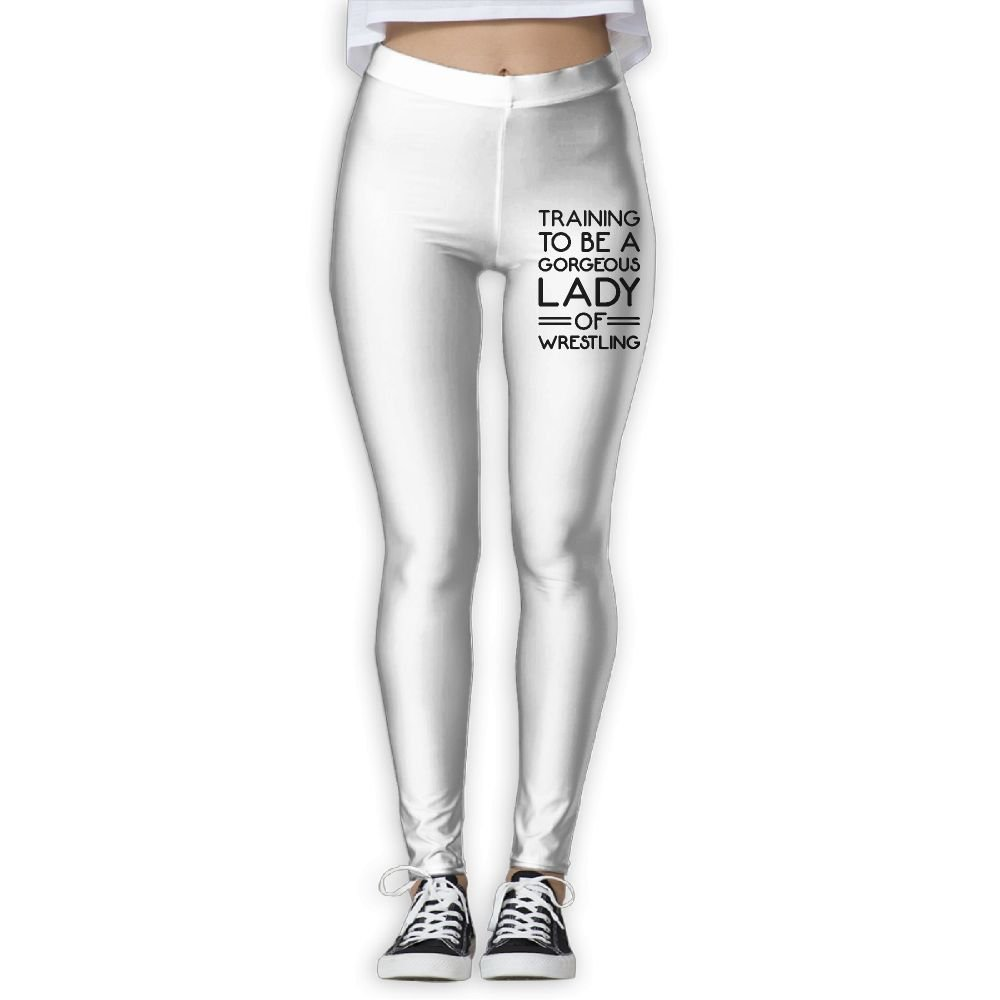 Gorgeous Lady Of Wrestling Women's Full-Length Yoga Leggings by NO2XG