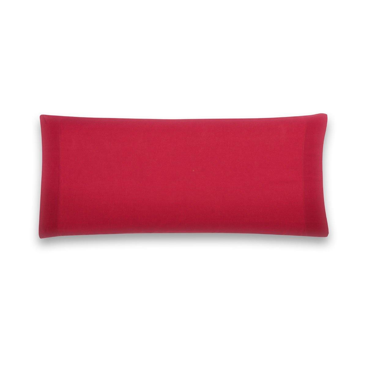 Sancarlos - Funda de almohada para cama, 100% Algodón percal, Color rosa, Cama de 90 cm: Amazon.es: Hogar