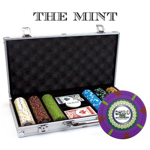 即日発送 Claysmithゲーム300-count ' The Mint ' Poker ' Chipセットinアルミニウムケース Poker The、13.5 GM B0091JMERI, 旅STYLE:aa7c70b3 --- ballyshannonshow.com