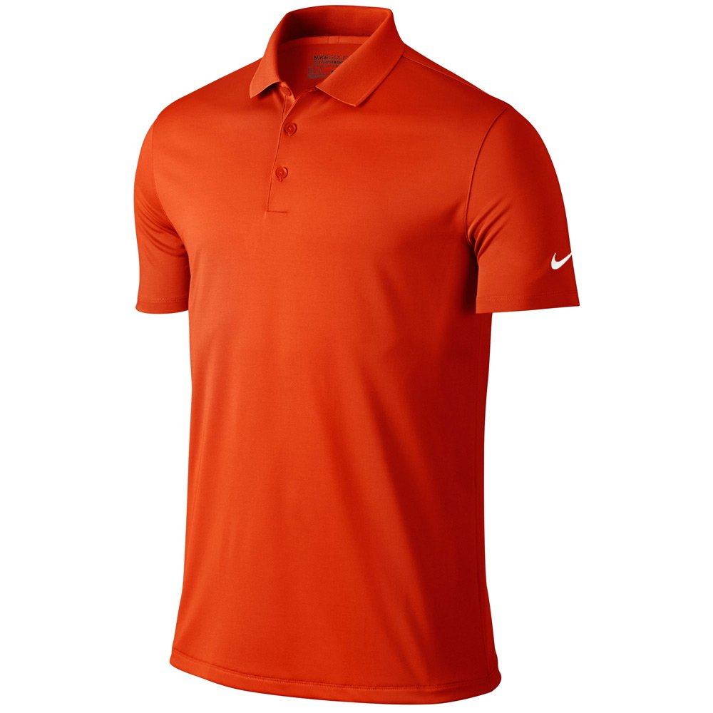 Nike Golf Victory Solid Polo (Team Orange/White) (3XL) by Nike