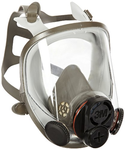 3M Full Facepiece Reusable Respirator 6700DIN, Respiratory Protection, Small by 3M Personal Protective Equipment