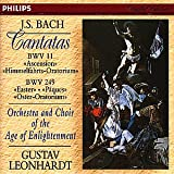 Bach: Cantatas BWV 11 & 249 (Ascension and Easter Oratorios) /Orchestra & Choir of the Age of Enlightenment · Leonhardt
