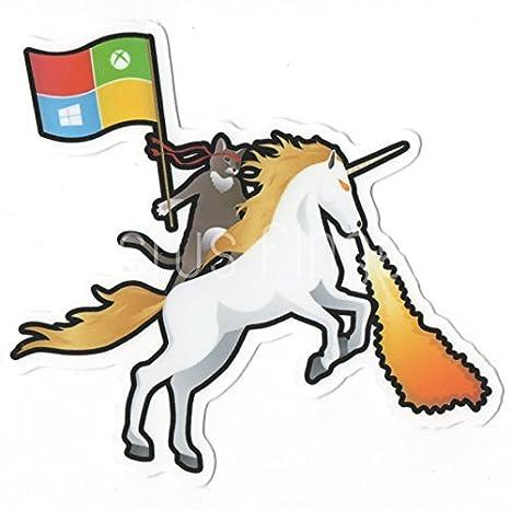 Ninja adhesivo pared unicornio gato de teléfono de la ...