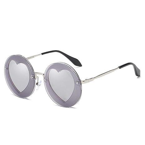 Sabarry Retro Gafas de Sol, corazón Redondas Gafas de Sol ...