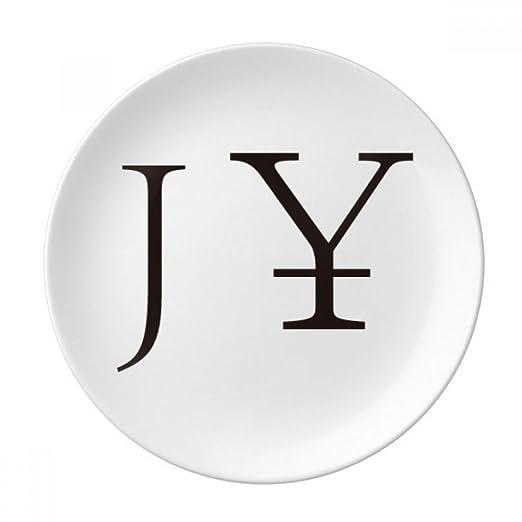 DIYthinker símbolo monetario Yen japonés Decorativo de Porcelana ...