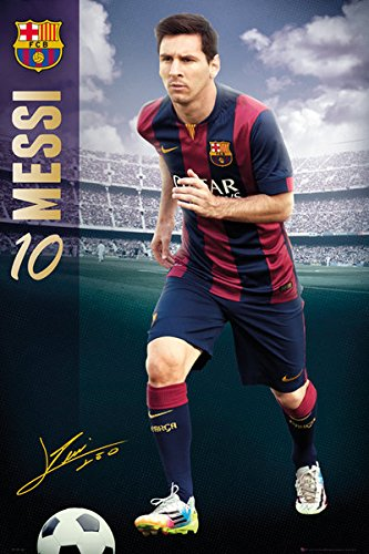 55ee3ff09 Image Unavailable. Image not available for. Color: FC Barcelona - Sport  Poster / Print (Lionel Messi ...