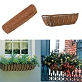 wonuu Coco Liners for Planters 30 inch,Trough