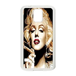 monroe Design Top Quality DIY Hard Case Cover for SamSung Galaxy S5 I9600, monroe Galaxy S5 I9600 Phone Case