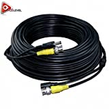 Acelevel Premium Quality 200 Feet Video Power BNC RCA Cable for Lorex CCTV Cameras